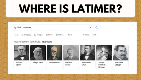 """lewis latimer cannot be seen on search results when """"light bulb inventors"""" is searched."""
